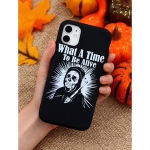 Grim Reaper Slogan iPhone 11 Pro Max Case 🖤